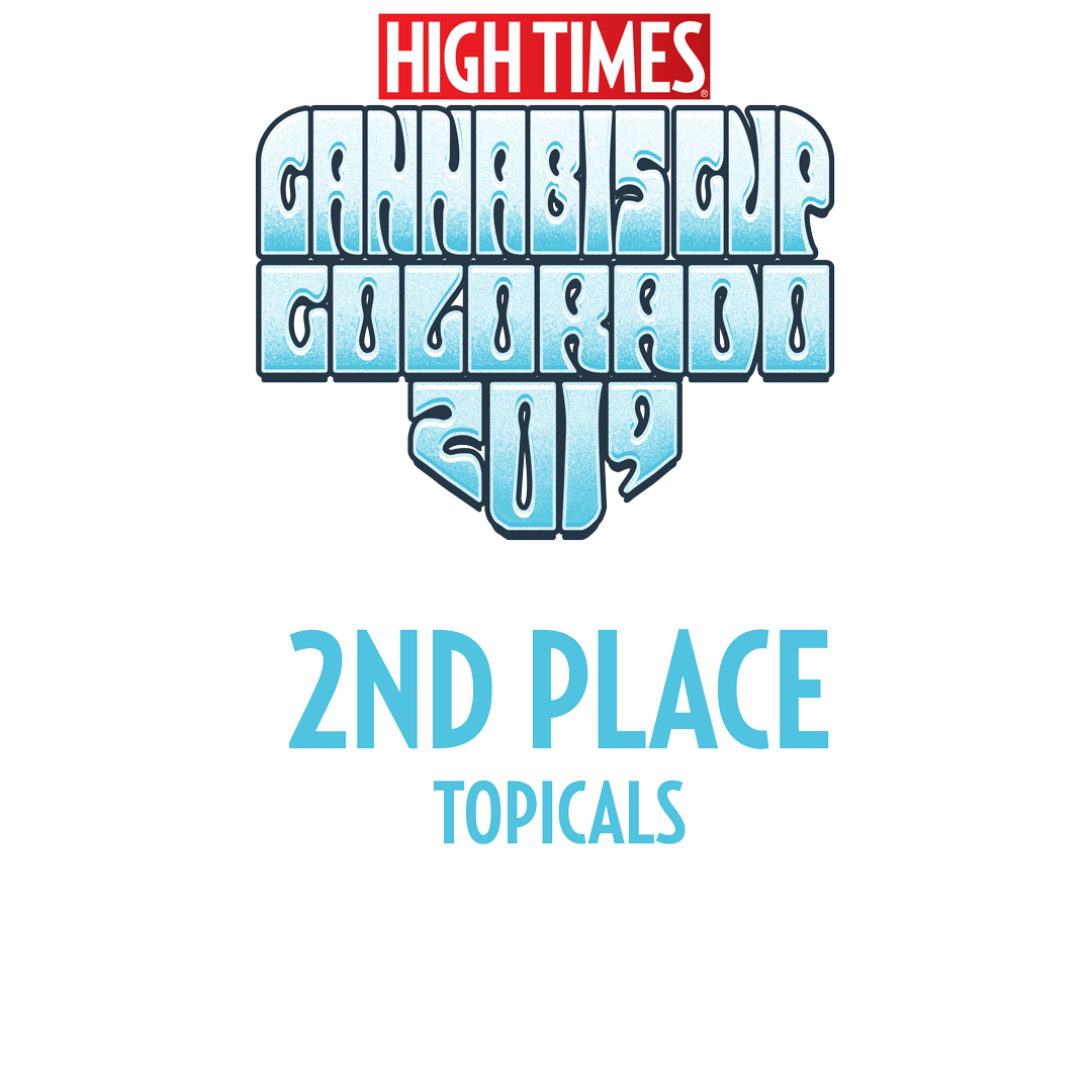 high times cannabis cup second place topical winner